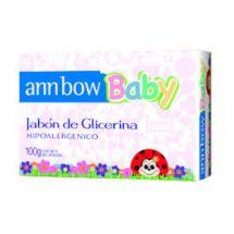JABÓN DE GLICERINA ANN BOW BABY 100 GR