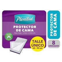 PROTECTOR DE CAMA PLENITUD 8 UNIDADES