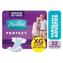 PAÑAL PLENITUD PROTECT TALLE EXTRA GRANDE 32 UNIDADES