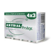 BARRA ASTRAL PROTEX PLATA 4X3 UNIDADES 125 GRS.