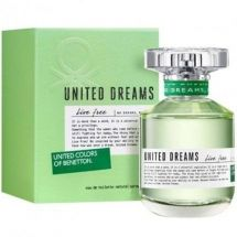 PERFUME EDT BENETTON DREAMS LIVE FREE 80 ML