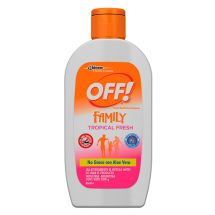 REPELENTE EN CREMA OFF TROPICAL FRESH.
