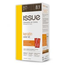 KIT COLOR TINTA ISSUE KERATINA N.8.1
