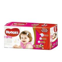 PAÑALES HUGGIES NATURAL CARE HIPER ELLAS XG X44