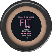 POLVO COMPACTO MAYBELLINE FIT ME SOFT CLARO NAT