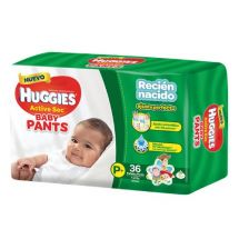 PANTS HUGGIES ACTIVE SEC P X36 UNIDADES