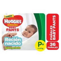 PANTS HUGGIES ACTIVE SEC P 36 UNIDADES