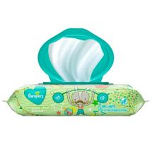 TOALLAS HUMEDAS PAMPERS CONFORT CLEAN SIN PERFUME X72 UNIDADES
