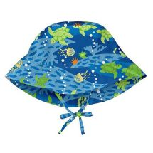 GORRO ESTAMPADO MAR UV50+ 2-4 ANOS