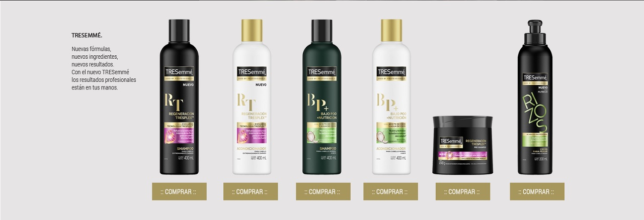 tresemme productos